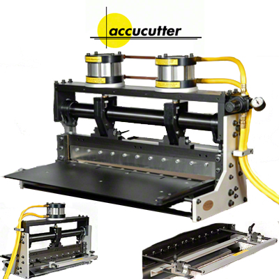 25 accucutter® Guillotine Air Powered Shear