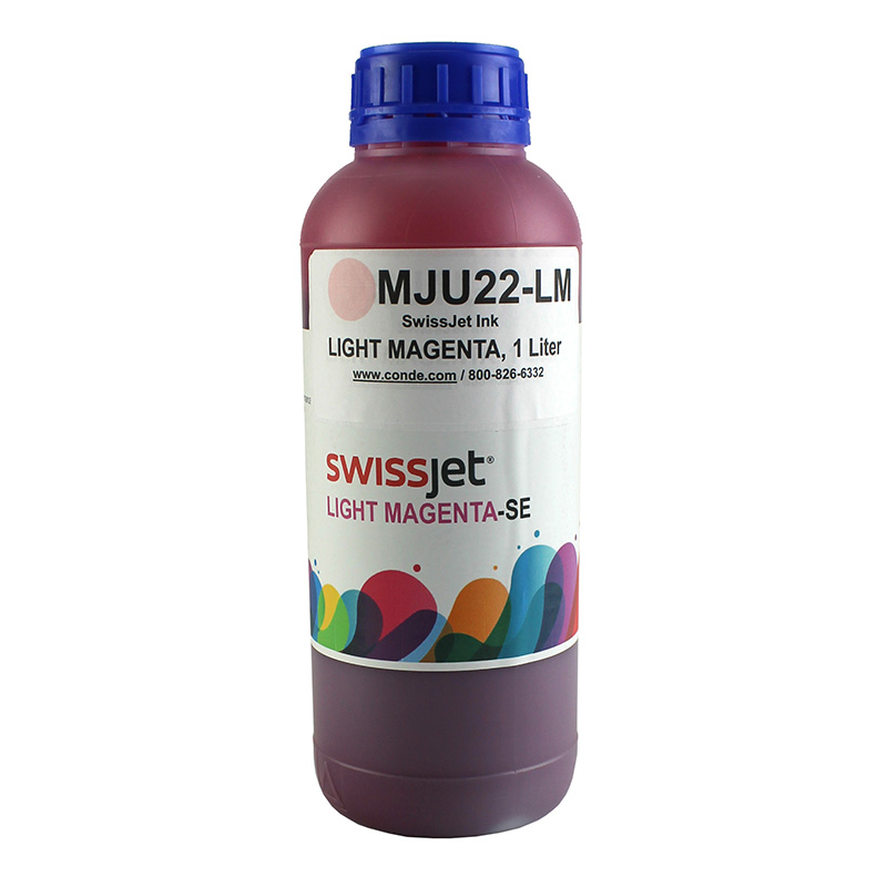 SwissJet™ Sublimation Ink Bottle - Light Magenta - 1 Liter