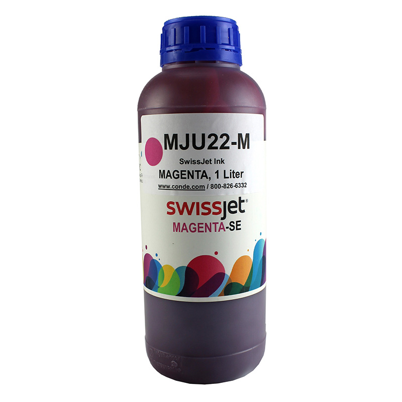 SwissJet™ Sublimation Ink Bottle - Magenta - 1 Liter