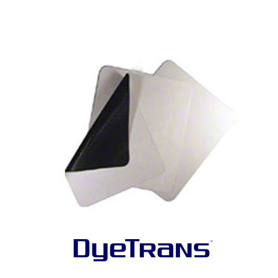 DyeTrans Sublimation Blank Mousepad Material - 5.5mm - Black-Backed - By the Yard