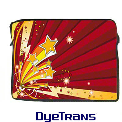 DyeTrans Sublimation Blank Neoprene Laptop Sleeve w/Zipper - 13.5