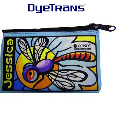 DyeTrans® Coin Purse Cosmetic Bag, Rectangle
