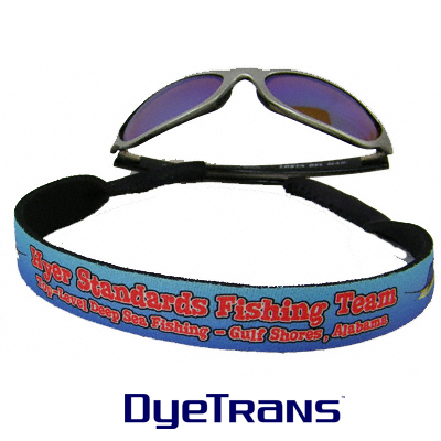 DyeTrans® Sublimation Blank Neoprene Eyewear Retainer