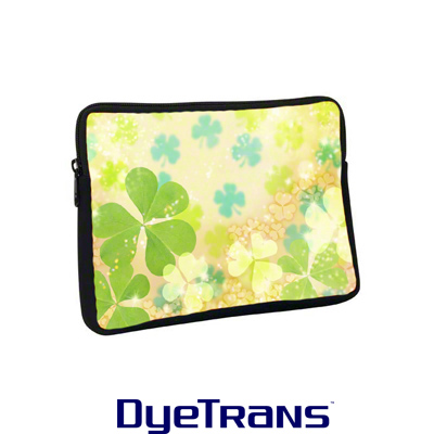 DyeTrans Sublimation Blank Neoprene Laptop Sleeve w/Zipper - 10.8