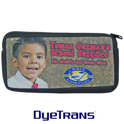 4x8 DyeTrans® Cosmetic, Device or Pencil Bag