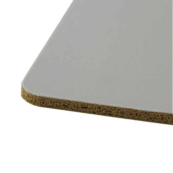 DyeTrans Sublimation Blank Mousepad Material - 6.35mm - Tan-Backed - By the Yard