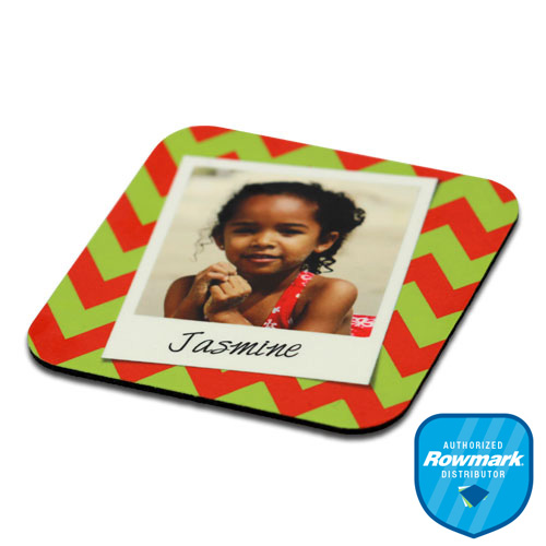 Rowmark mugMATES Sublimation Blank Coaster - 3.75 Square