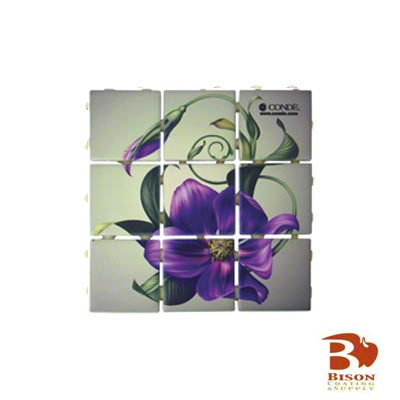 2x2 Tiles - 6 Sheets 9 Tiles - Dura Satin White