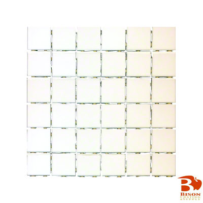 2x2 Tiles - 12 Sheets 36 Tiles - Dura Satin White