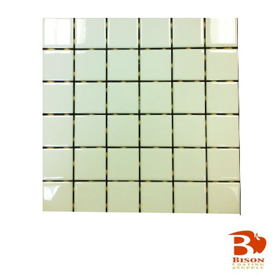 2x2 Tiles - 12 Sheets 36 Tiles - Gloss White