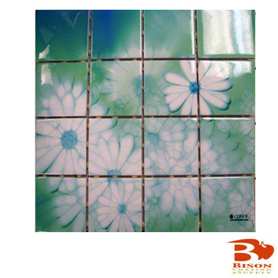 3x3 Tiles - 12 Sheets 16 Tiles - Gloss White