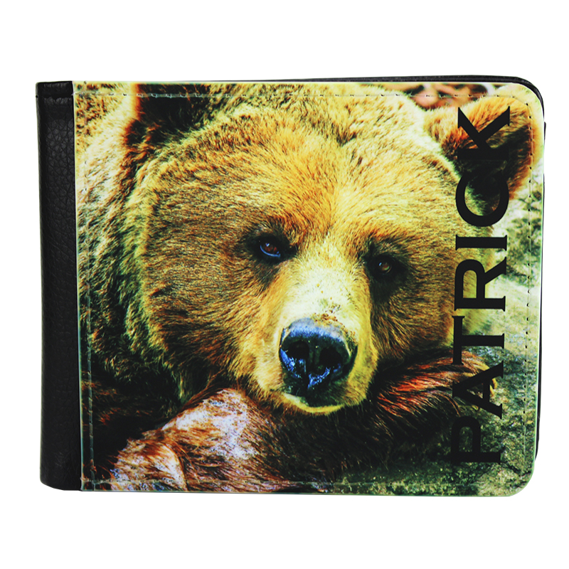 Sublimation Blank PolyLeather Men's Wallet - 1 Sided