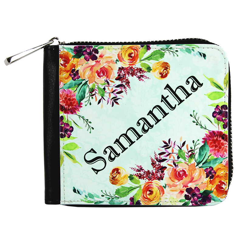 Sublimation Blank PolyLeather Women's Wallet - 4.7 x 4