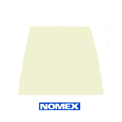 Heat Insulating White Nomex Felt Pad - 1/2