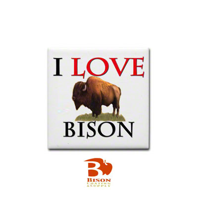 Bison Sublimation Blank Ceramic Tile - 6 x 6 - Spacerless - Gloss