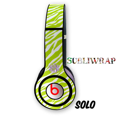 Sublimation Repositionable Vinyl  Skins for Beats