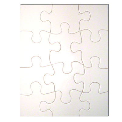 5.25x6.75 Puzzle 12 Pieces 10 Pack - Matte