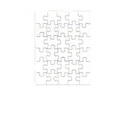 7.5x9.5 Puzzle - 30 Pieces - 10 Pack - Matte