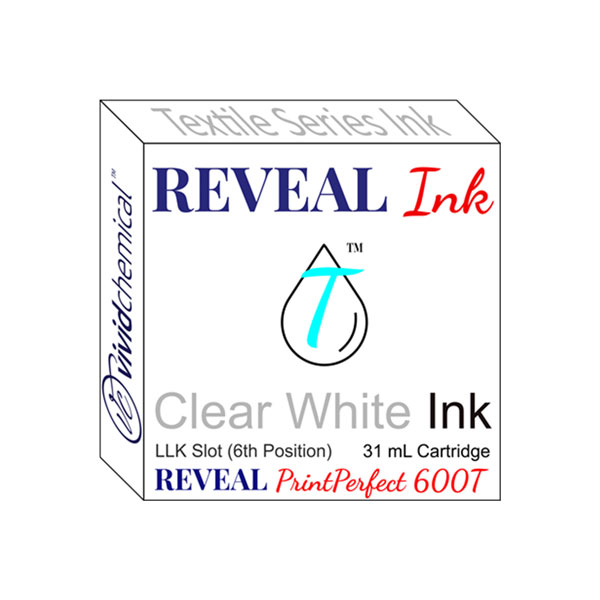Cartridge for Reveal 600T - Slot #6 - Clear White