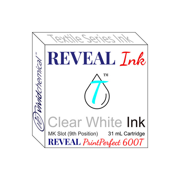 Cartridge for Reveal 600T - Slot #9 - Clear White