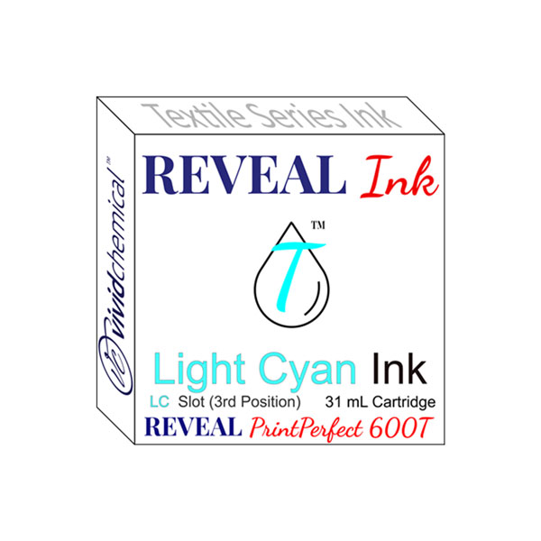 Cartridge for Reveal 600T - Slot #3 - Light Cyan