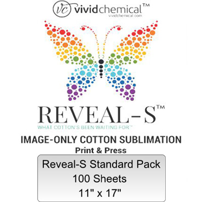 11x17 Reveal-S Cotton Sublimation Film - 100 Sheet