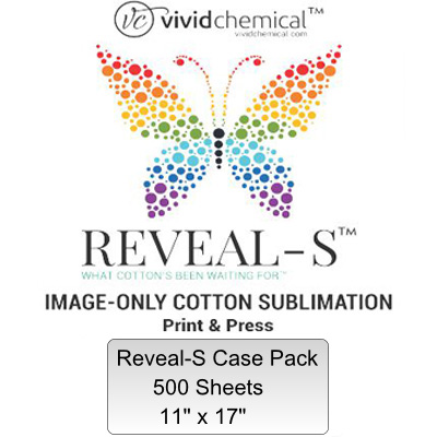 11x17 Reveal-S Cotton Sublimation Film - 500 Sheet