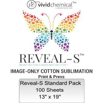13x19 Reveal-S Cotton Sublimation Film -100 Sheets