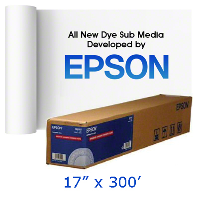 Epson 17x300 MultiPurpose Transfer Paper Foot Roll