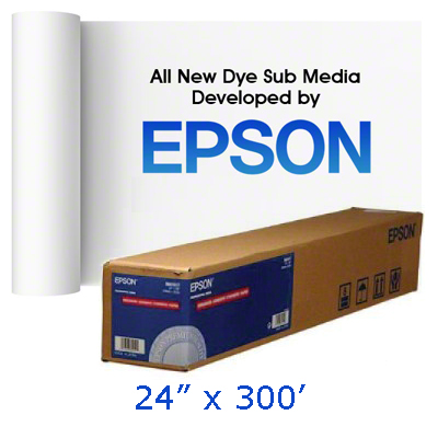 Epson 24x300 MultiPurpose Transfer Paper Foot Roll