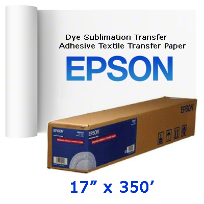 Epson 17x350 Transfer Adhesive Textile Foot Roll