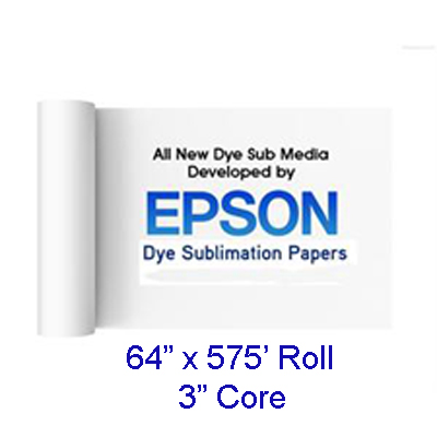 Epson 64x575ft Sub Media Production Transfer Paper