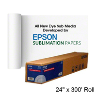 24x300ft Roll Epson Dye Sub Transfer Photo Paper