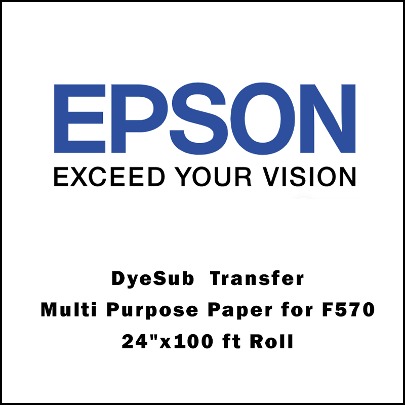 Epson® DS Transfer Multi Purpose Paper for F570 - 24x100 ft Roll