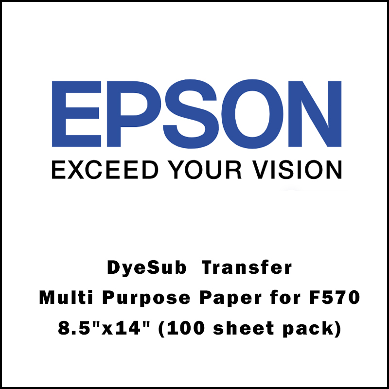 Epson® DS Transfer Multi Purpose Paper for F170/F570 - 8.5x14 (100 sheet pack)
