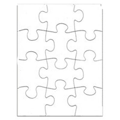 5 25x6 75 puzzle 12 pieces 10 pack matte