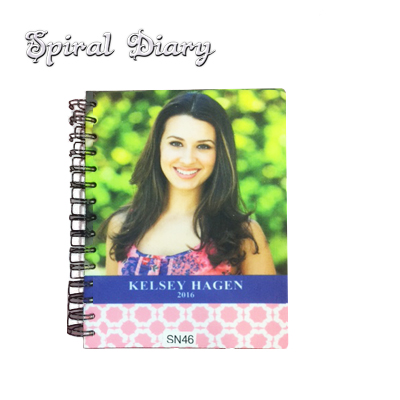 Sublimation Blank Spiral Diary Notebook - 8.27x5.83
