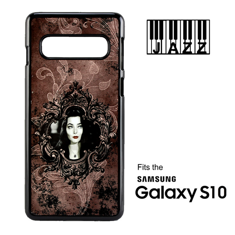 Samsung® S10 Jazz™ Sublimation Plastic Case - Black w/ White Aluminum Insert
