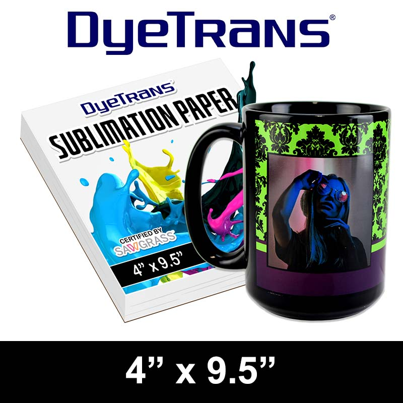 4x9.5 Sublimation 15oz Mug Paper - 100 sheets