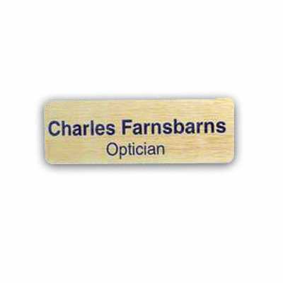 DyeTrans® Name Badges for Sublimation Imprinting