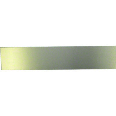 2x10 Satin Gold Desk Sign Insert DyeTrans Aluminum