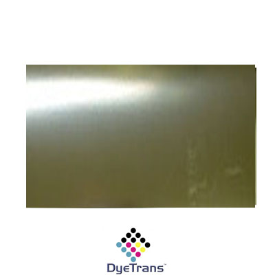 DyeTrans Sublimation Blank Brass Sheet Stock - 12 x 24 - Bright Brass