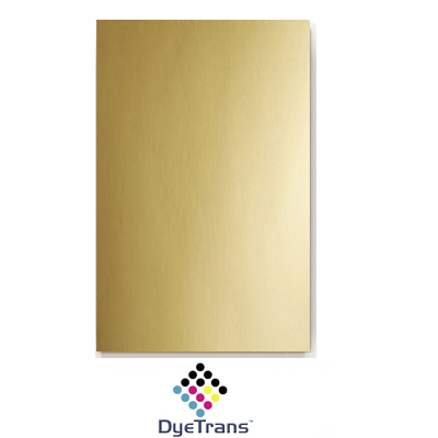 24x12 DyeTrans® Bright Gold Aluminum Sheet Stock