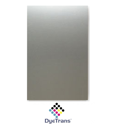 24x12 Bright Silver DyeTrans® Aluminum Sheet Stock
