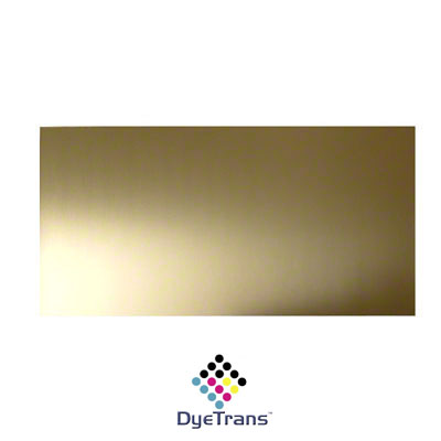 DyeTrans Sublimation Blank Brass Sheet Stock - 12