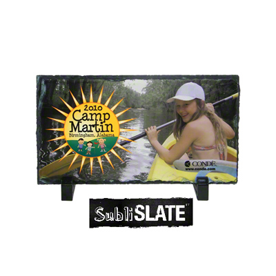 SubliSlate Blank Sublimation Slate Plaque - 4.68