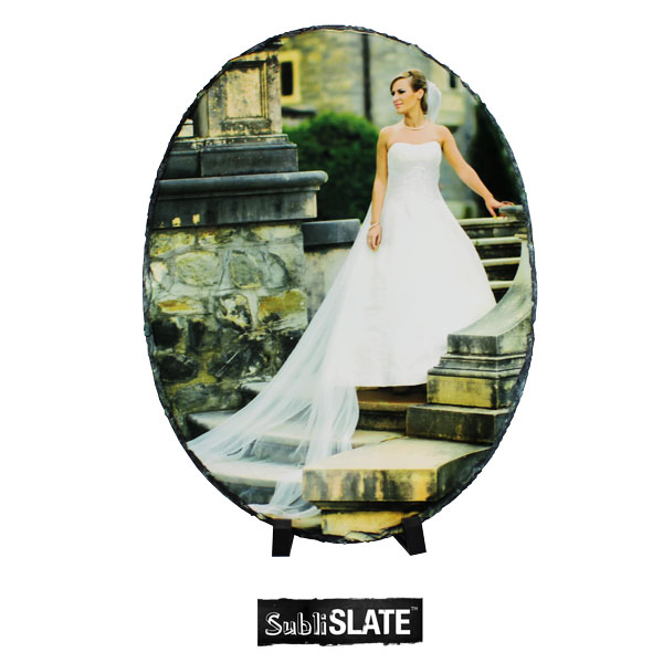 SubliSlate™ Blank Sublimation Slate Plaque - 10.53