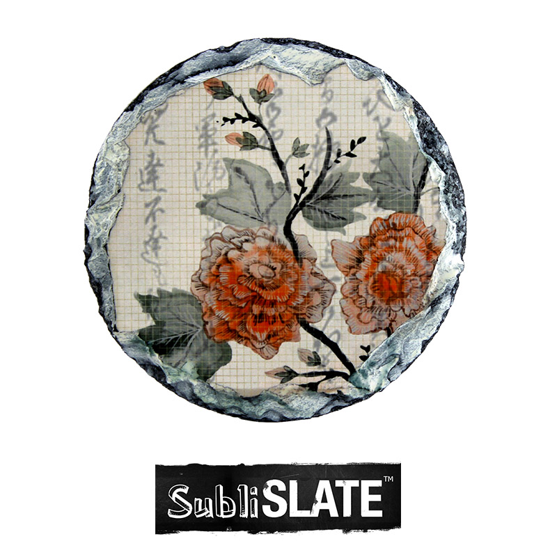 SubliSlate™ Blank Sublimation Slate Coaster - 4