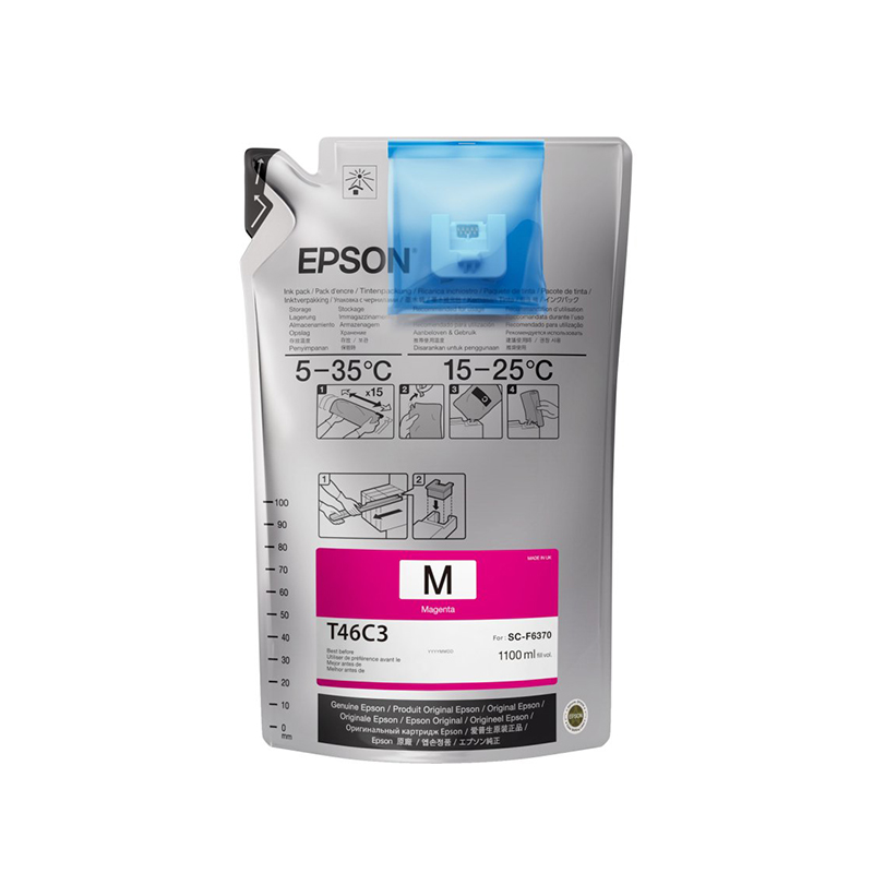 Epson® UltraChrome DS Ink for F6370 Printers - Magenta - 1.1 Liter