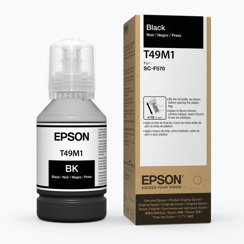 Epson® Dye-Sublimation Ink for F570 - Black - 142ml